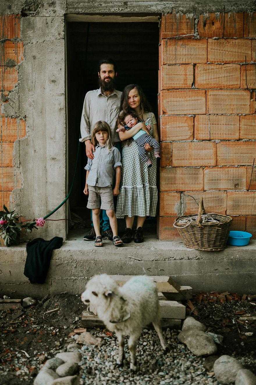四口之家的品质乡村生活 清新自然远离喧嚣