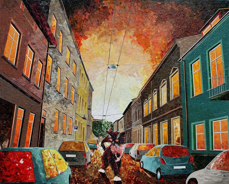 Cityscapes城市景观- ( Artist: Albin Talik )