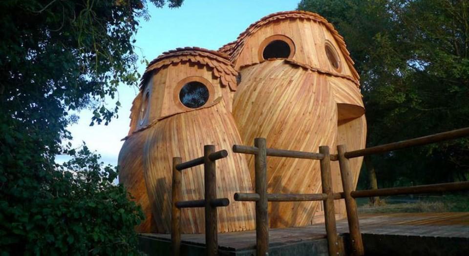 Owl Cabins 猫头鹰小屋 (ARTIST:Bordeaux Me?tropole)