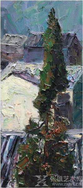 壁纸 风景 油画 265_600 竖版 竖屏 手机
