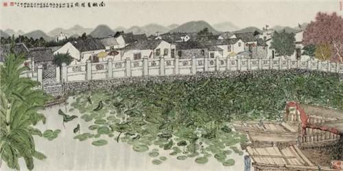 惠州古村写生