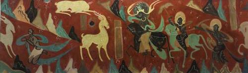 九色鹿壁画