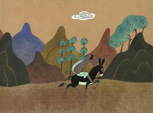溺水人引国王军队猎杀九色鹿 动画