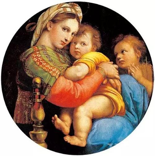 《椅上圣母玛利亚》