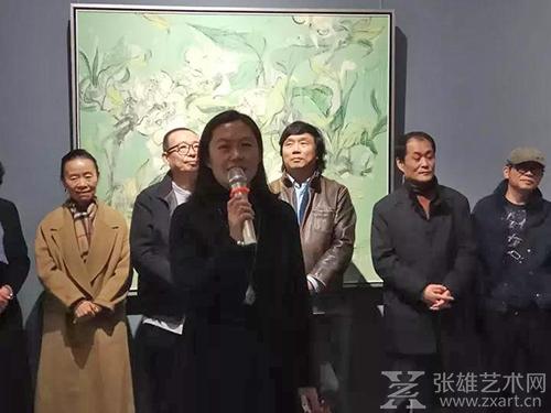 """""""花境——王海燕绘画作品展""""亮相方圆美术馆"""