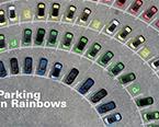 花样百变的创意停车位 你会从此爱上停车!