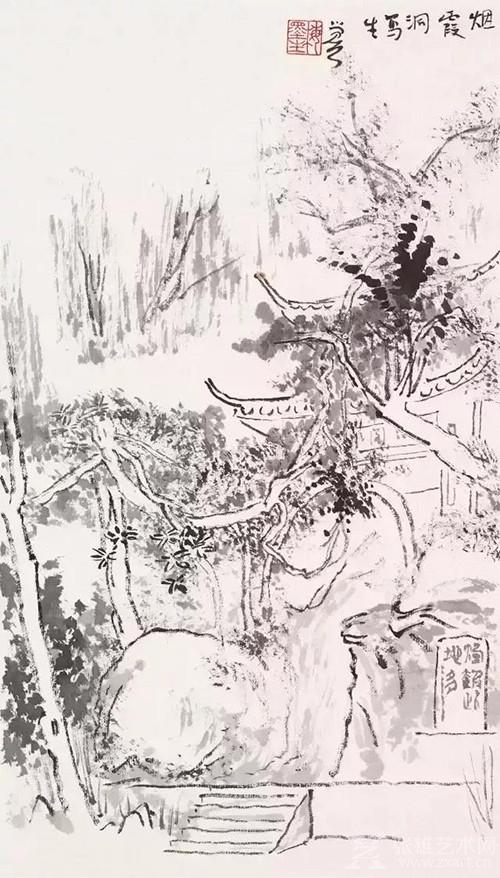 国画 简笔画 手绘 线稿 500_878 竖版 竖屏