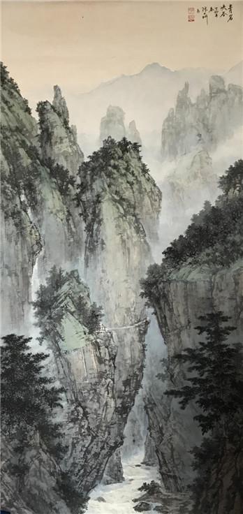张大昕作品-青岩峡谷