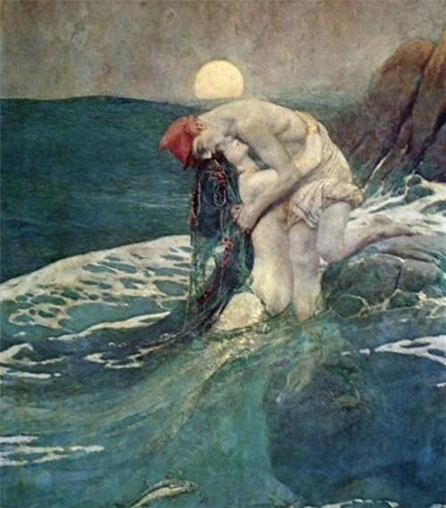 """被少女心""""俘虏""""的法国著名插画家——埃德蒙·杜拉克"""
