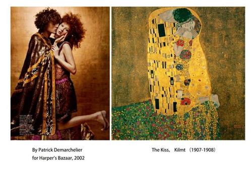 """从""""名画cosplay""""看绘画对时尚摄影的影响"""