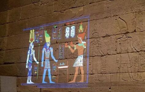 纽约大都会博物馆用高科技为古埃及壁画涂色