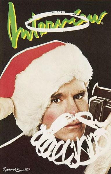 这些贺卡告诉你安迪・沃霍尔有多爱圣诞节!