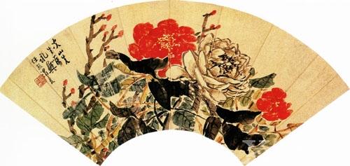 精微素描花卉素材