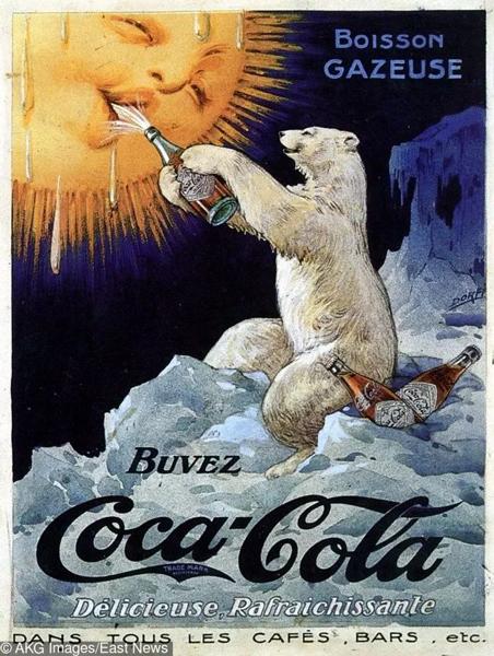 100年前的广告海报 脑洞也很大啊!
