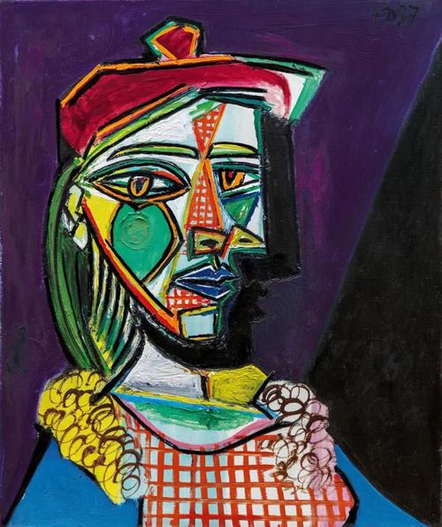毕加索「金发缪思」肖像画巨作将现身苏富比