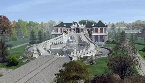 圆明园复原图:还原一个惊艳全球的皇家园林