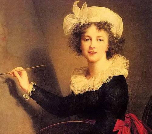 维杰•勒布伦:令全欧洲痴迷不已的美女画家