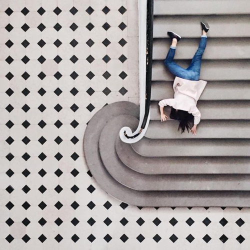 以世界为画布 和建筑物来一场有趣的互动