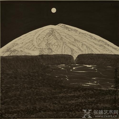 徐里《永恒的辉煌》180x180cm 2014年