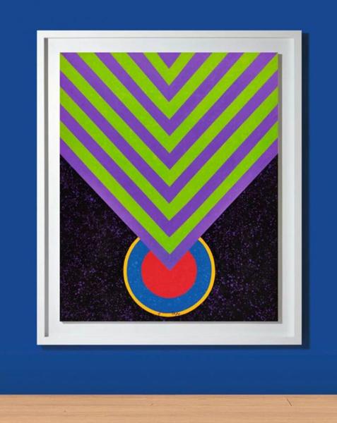 萧勤《冥想的能量》领衔苏富比现代艺术晚拍