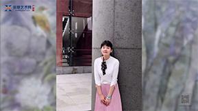 用画笔传达温暖——苏颖—广州站报道