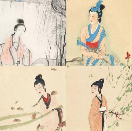 中国书画拍卖——芳容丽质 秀色古今