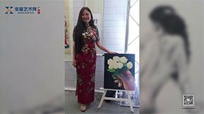 一个力求完美的艺术家——廖少英-广州站报道