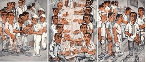 曾梵志作品《协和医院系列之三》拍出1.13亿港元