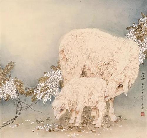 中国书画30家巡展品牌画家——张秀萍