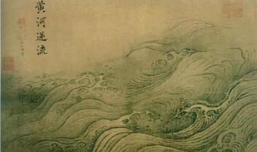 """艺术家笔下的""""浪"""":时而平静时而波涛汹涌"""