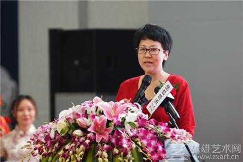 香港艺术金融控股有限公司执行总裁   李思莫 致辞