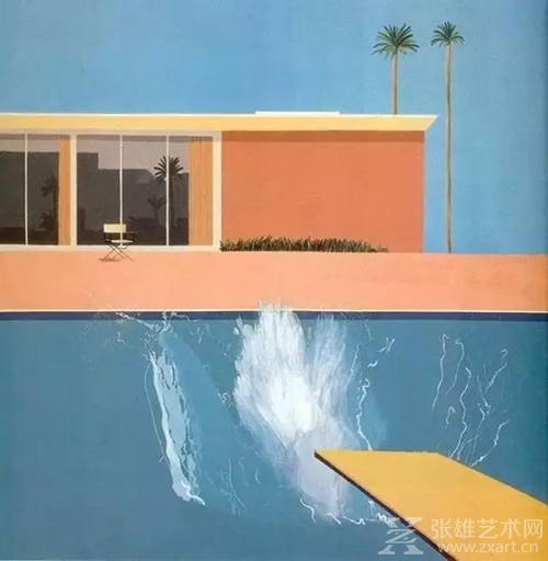 bigger splash 1967