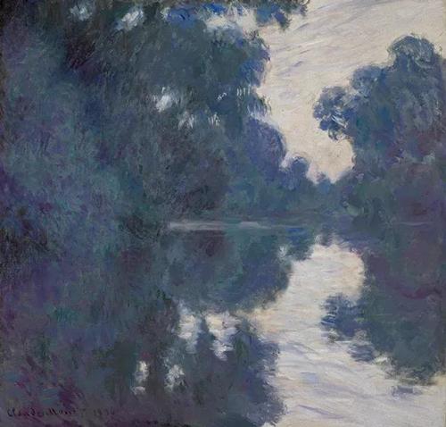 克劳德·莫内(Claude Monet)《塞纳河清晨》 1896年作 估价 :18,000,000 — 25,000,000美元