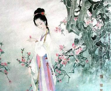 手绘《红楼梦》人物图,如花美眷,似水流年