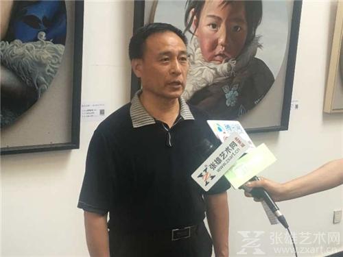 宋庄原党委书记、中国当代文献馆馆长胡介报接受采访