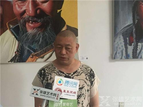 中国当代艺术主编著名评论家丁正耕接受媒体采访