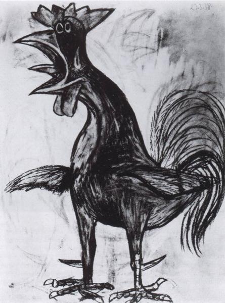 《公鸡》毕加索