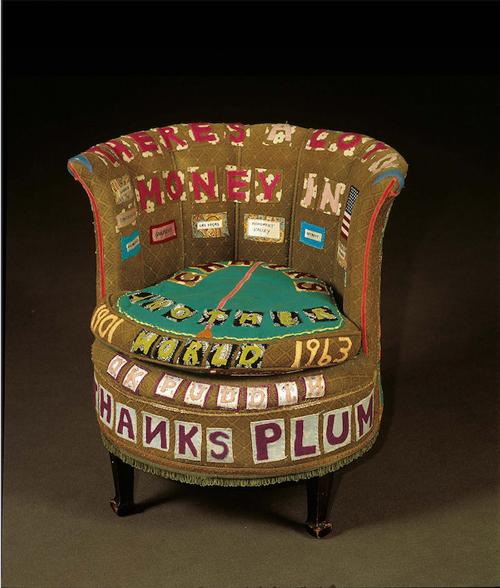翠西·艾敏《椅子上有很多钱》,1994。