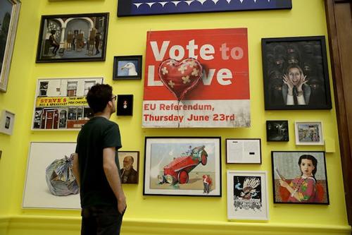 班克斯《为爱投票》(Vote to Love)