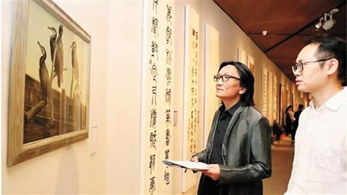 2018中央美院毕业季 徐新立 何逸凡 李标/摄