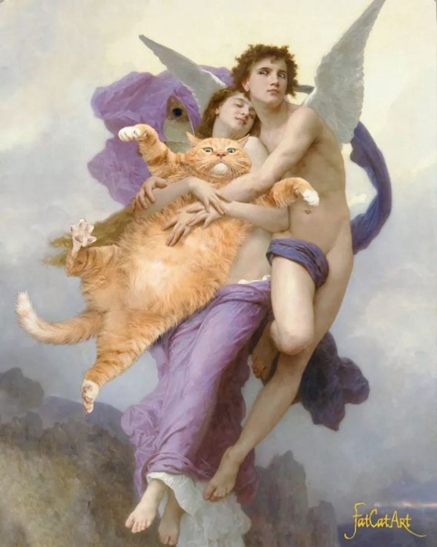 The Abduction of Psyche and the Fat Cat