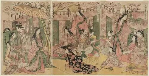 日本浮世绘里的梁山好汉 ,大开眼界!
