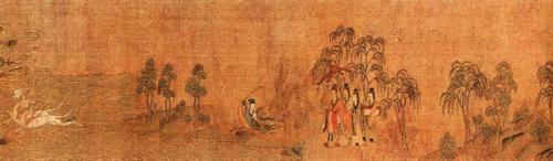 顾恺之《洛神赋图》(局部)