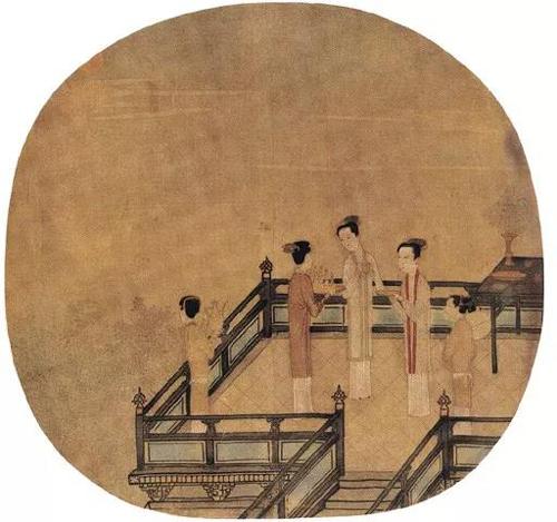 陈清波《瑶台步月图》