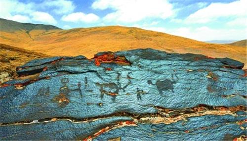两千年前609幅岩画现身三江源通天河流域