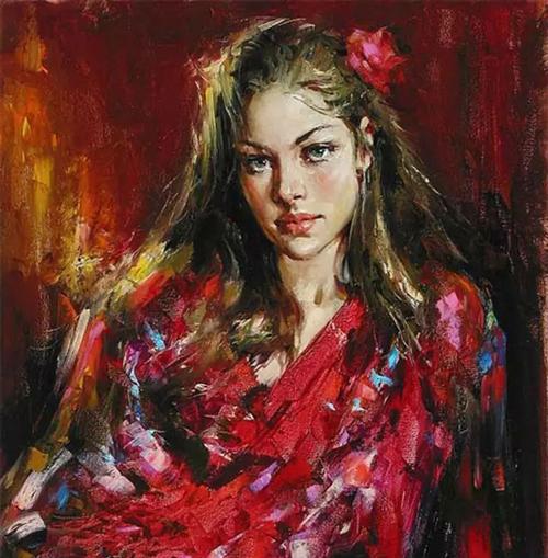 奔放、浪漫,富有激情的俄罗斯美女!