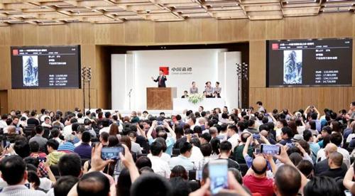 中国书画闪耀大观夜 十件巨作成交价过千万