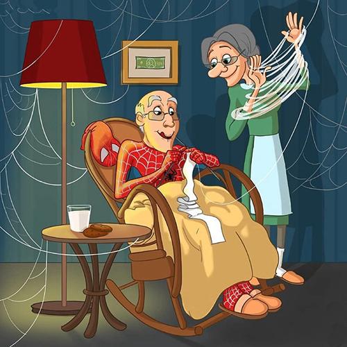 当迪士尼卡通人物进入了退休年纪……