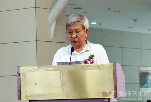 福州大学厦门工艺美术学院郑景贤教授致辞