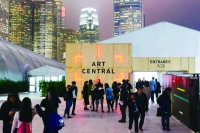 香港Art Central艺博会现场